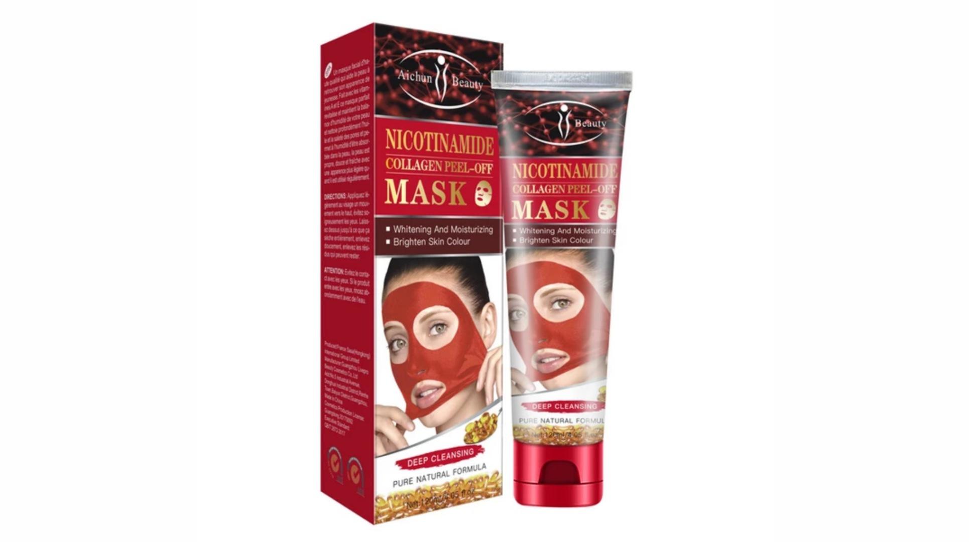 ماسک-نیکوتین-آمید-و-کلاژن-آیچون-بیوتی-aichun-beauty